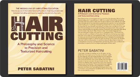 Purchase Haircutting A Philosophy and Science to Precision and Texturized Haircutting by Peter Sabatini!